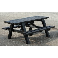 British Recycled Plastic - Rastrick Wheelchair Accessible Picnic Table
